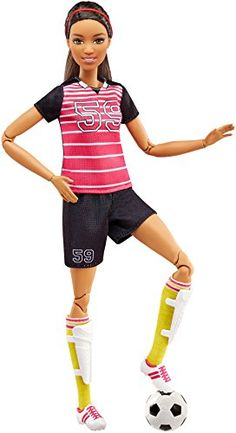 Barbie Careers Made to Move Soccer Player Doll.  toys4mykids.com