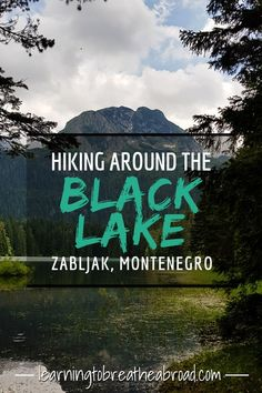 The Black lake is a stunning glacial lake in Zabljak in Montenegro. The hiking trail runs right about both lakes with spectacular scenery. This is definitely one of the best things to do in Montenegro.#blacklake #montenegro #montenegrotravel #zabljak