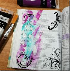 My Weekly Bible Journaling #12 | Paulette's Papers - Book of Numbers