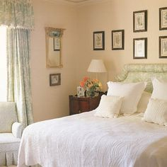 Cream Bedroom Peach Rooms Estilo Cottage Furniture Design