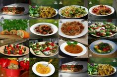 dieta dr Dąbrowskiej Detox Drinks, Kung Pao Chicken, Bruschetta, Cobb Salad, Food To Make, Slow Cooker, Good Food, Food And Drink, Beef