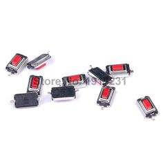 50PCS 3*6*2.5 mm 3*6*2.5H SMD red Button switch key switch Tact Switch #Affiliate