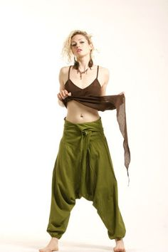 ASSORTED COLOURS - unisex FISHERMEN pants, yoga trousers, harem pants, aladdin pants on Etsy, 353:09 kr