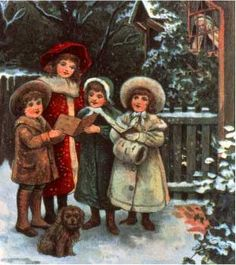 Christmas images Victorian Carol Singers wallpaper and background photos Old Time Christmas, Christmas History, Old Fashioned Christmas, Christmas Past, Victorian Christmas, Christmas Bells, Christmas Carol, Christmas Classics, Christmas Scenes