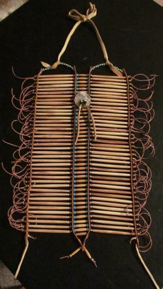 Native American Style Breastplate by MountainMan4sale on Etsy, $265.00