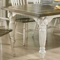 Design your own tidy French Provincial Table | French Country Furniture - French Furniture yourself for free! Learn it at http://www.countryfrenchfurniture.net/