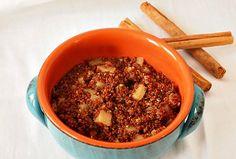 Apples and Cinnamon Quinoa Breakfast