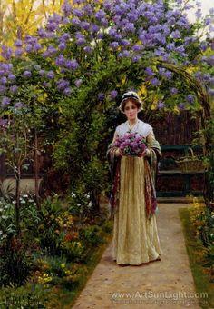 Lilac 1901 - Edmund Blair Leighton