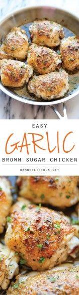 Garlic-Brown-Sugar-Chicken