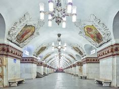Gallery of These Photographs Capture the Opulent Beauty of Empty Moscow Metro Stations - 2