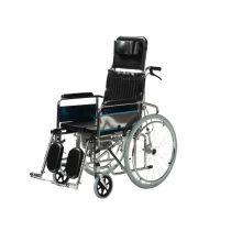 22 inch Rear Wheel Commode Wheelchair