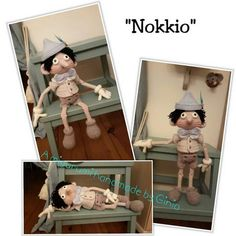 """Nokkio"" design and pattern by Ginia Mees"
