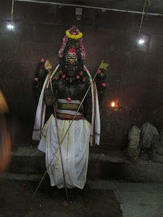 7 feet Subramanya in the form of Brahma Shasta - near Chennai   #IndianColumbus  http://indiancolumbus.blogspot.com/2016/04/voyalanallur.html