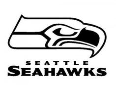 click to see printable version of seattle seahawks logo coloring rh pinterest com  seahawks logo stencil template