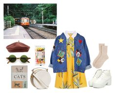 """""""when i grow up"""" by merlina-m ❤ liked on Polyvore featuring Fendi, H&M, Accessorize and Johnstons of Elgin"""