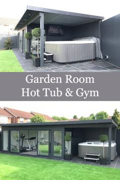 Join me - Martin Baker - on a guided tour around this awesome garden room, with side canopy. This has some fantastic features including hot tub with the outs.