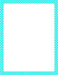 Printable purple and white polka dot border Free GIF JPG PDF