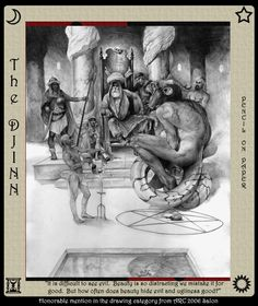 The Djinn by Paul Mellender.
