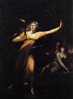 John Henry Füsli   Lady Macbeth 1784  oil on canvas