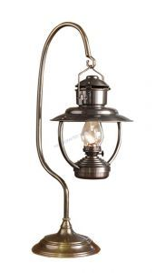 "Antique Brass Trawler Table Lamp 23"" from Handcrafted Nautical Decor - In stock and ready to ship"