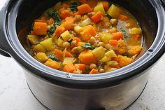 Slow Cooker Root Vegetable Stew