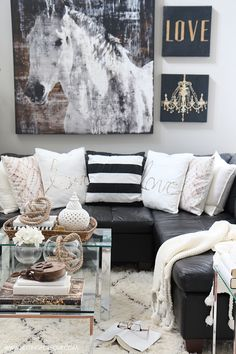Living Room Design Ideas And $10,000 Giveaway – Setting for Four