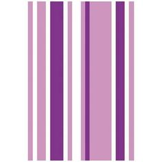 Papel de parede listrado vertical, em tons de roxo, branco, lilas. Informações básicas Produto de fácil aplicação. Adesivo…