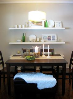DIY for the dining room....doesn't seem too hard.