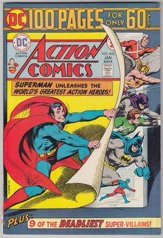 ACTION COMICS #443 DC COMICS VF CONDITION 100 PAGE GIANT