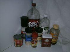 Dr. Pepper BBQ sauce!