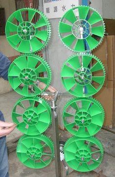 micro wind turbines, genius!