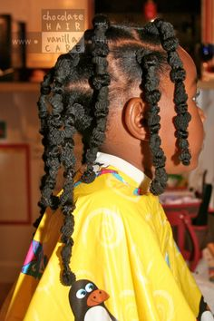 Hair banding for African American little girls hair