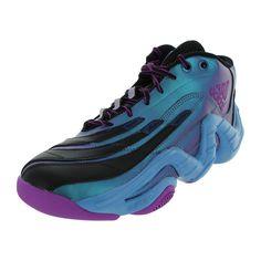 adidas uomini cloudfoam thunder metà scarpa degli sport di squadra di basket