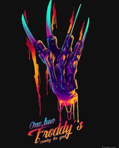 A Nightmare on Elm Street Freddy Krueger, Horror Artwork, Horror Decor, Halloween Wallpaper Iphone, Spooky Scary, Vintage Horror, Silhouette Cameo Projects, Nightmare On Elm Street, Horror Movies
