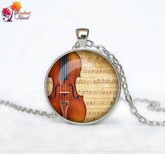 Violin pendant Violin