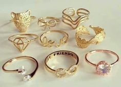 Rings available at Hut no. 8 Oceanside & Spring Hill.