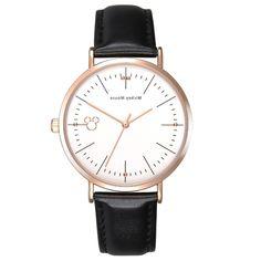 US $28.50 (Buy here - https://alitems.com/g/1e8d114494b01f4c715516525dc3e8/?i=5&ulp=https%3A%2F%2Fwww.aliexpress.com%2Fitem%2FCouple-watch-Disney-brand-boy-girl-Men-and-women-Waterproof-leather-wrist-watch-with-quartz-Mickey%2F32776666572.html) fashion ladies watch quartz Disney brand girls Waterproof leather women's wristwatch Mickey mouse casual femmes clocks relogio