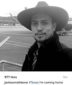 Jackson heading to Texas Jackson Rathbone, Cowboy Hats, Stars, Texas, Fashion, Moda, Fashion Styles, Sterne, Fashion Illustrations