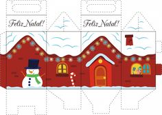 61 Ideas Diy Christmas Gifts For Kids To Make Free Printable For 2019 Diy Christmas Gifts For Kids, Christmas Paper Crafts, Holiday Crafts, Christmas Christmas, Birdhouse Craft, Cardboard Box Crafts, Navidad Diy, 242, Free Christmas Printables