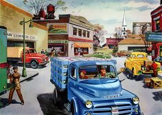 Plan59 :: Classic Truck Art :: 1952 Dodge Trucks