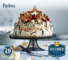 Deze pavlova is gemakkelijk zelf te bereiden! Meer December Feest recepten ontdekken? Kijk op www.lidl.nl #Lidl #Decemberfeest