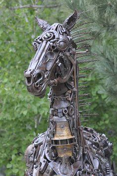 junk sculpture - Google Search
