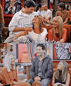 Friends Moments, Friends Series, Friends Show, Funny Friends, Hes Her Lobster, Ross And Rachel, Series Movies, Movie Tv, Tv Shows