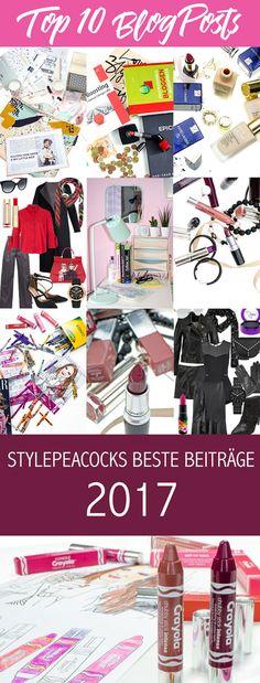 Stylepeacock's TOP 5 | My Blog Posts 2017 Hier kommen die fünf am meisten gelesenen Blog Posts aus dem jahr 2017. Welcher Blogpost ist die Nummer 1? Aus welchen Bereich stammt er? Fashion, Beauty, Bloggertipps oder Lifestyle? Erfahrt es hier!