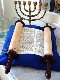 """by Daniel John Lee The Torah, more accurately translated into English as """"Instructions"""", provide many benefits for Christians. Obeying these instructions ordained unto life, only brings one closer to Jesus Christ (YahShua ha Maschiach). Jewish History, Jewish Art, Shabbat Shalom Images, Holy Bible Book, Jewish Menorah, Arte Judaica, Messianic Judaism, Strong Faith, Identity In Christ"""