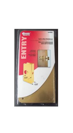 Prime-Line Defender Security Lock and Door Reinforcer Solid Brass Defender Security, Security Lock, General Store, Hard To Find, Solid Brass, Puertas