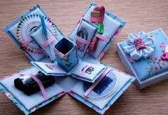 caixa de costura cartonagem