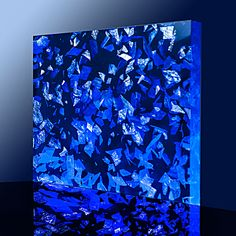 BLUE NACRE IN ACRYLIC SHEETS