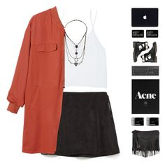 """""""#361"""" by catarinaalsp ❤ liked on Polyvore featuring Zara, Talula, Topshop, Monki, Smashbox, See by Chloé, women's clothing, women's fashion, women and female"""