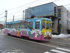 Tram in Takaoka. by Takahiro Kuriyama • 1 year ago - Japan